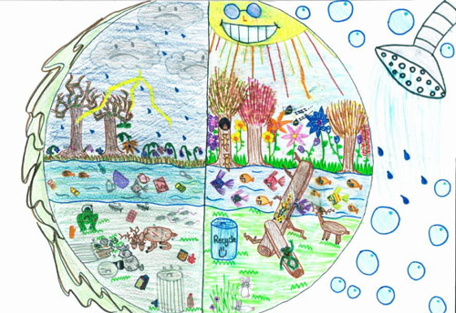 500x344 Earth Day Drawings On Earth Day 2017