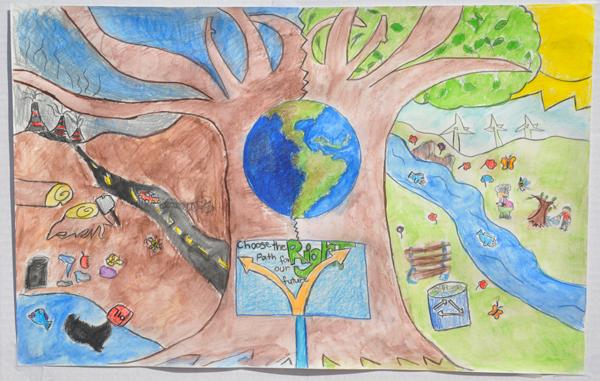 600x381 Earth Day Art Contest 2015