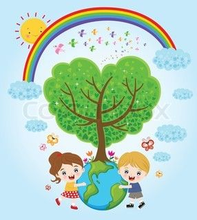 286x320 Earth Day Drawing Dekor, Earth