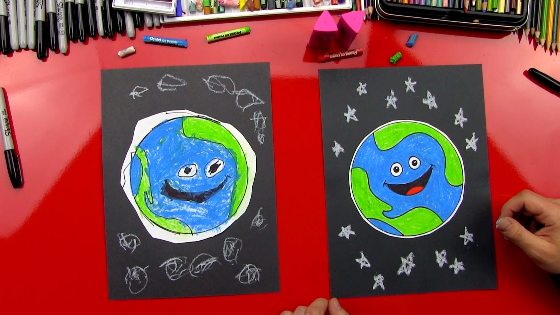 1905x1072 How To Draw Earth (For Young Artists)