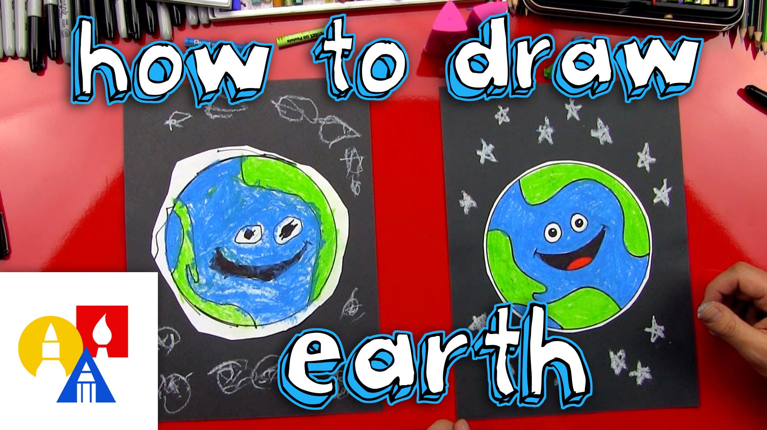 2463x1381 How To Draw Earth (For Young Artists)