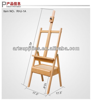324x350 Hot Sell Professional Artist Studio Wooden Easel Easel Drawing