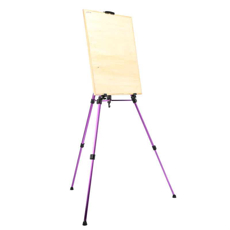 800x800 Multicolor Mini Easel Small Colorful Aluminum Alloy Easel Drawing