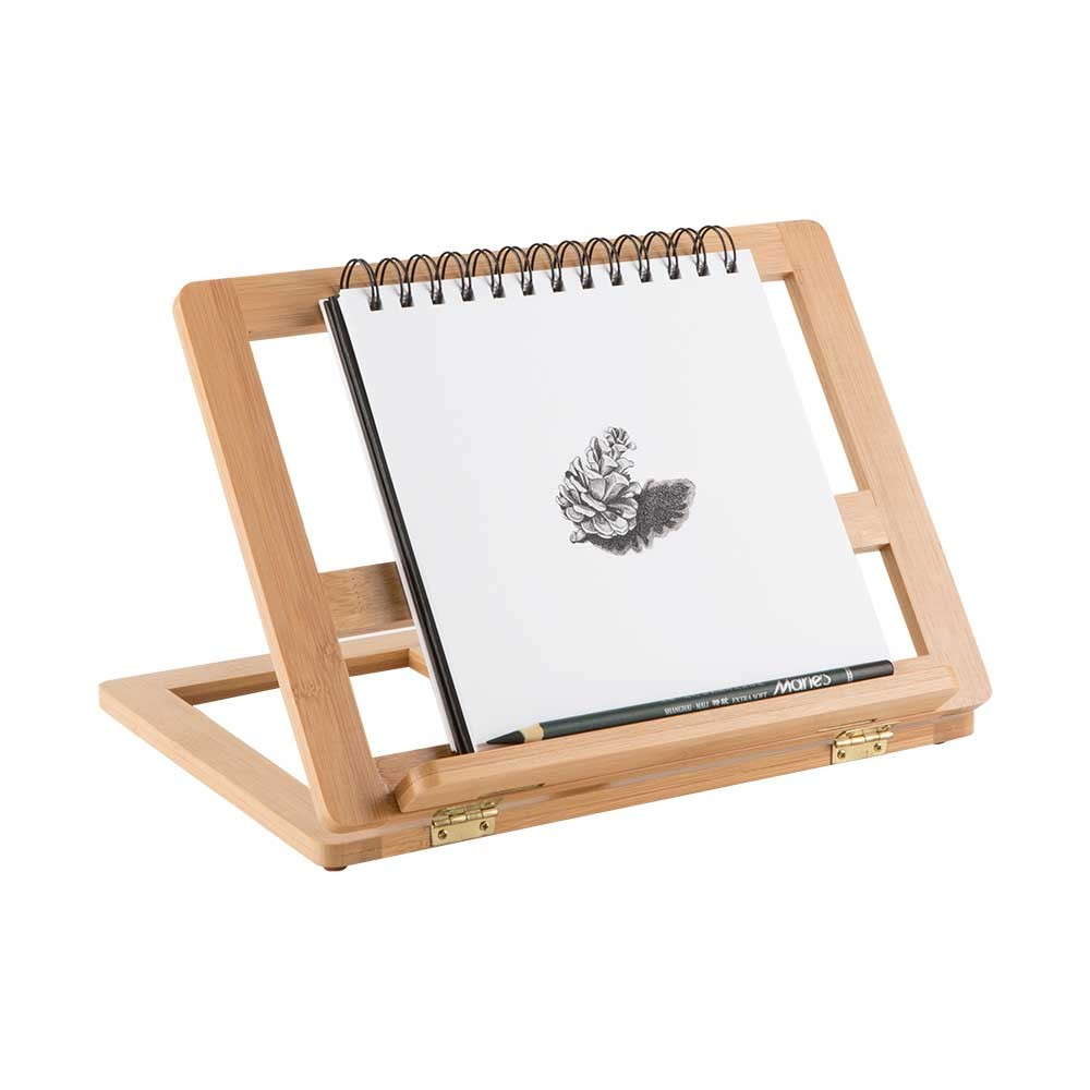 1000x1000 Creative Mark Tao Bamboo Table Easel And Drawing Stand