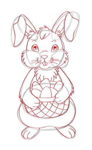 312x508 3 Ways To Draw The Easter Bunny
