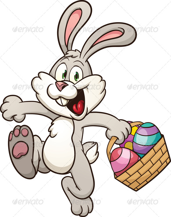590x748 Cartoon Easter Bunny Pictures, Images, Costume, Drawing Happy