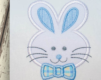 340x270 Bunny Face Outline Etsy