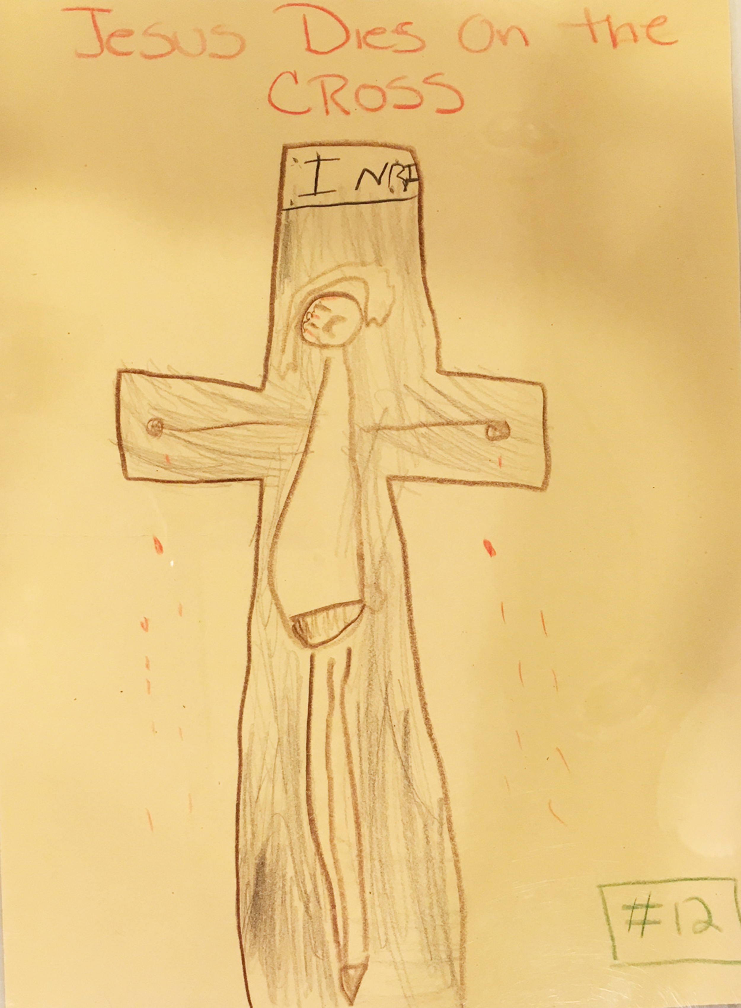 2500x3402 Stations Of The Cross Drawn By Children