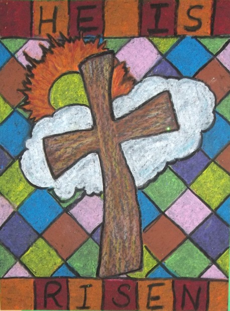 458x618 He Is Risen Includes Six Drawings For Easter Art Projects
