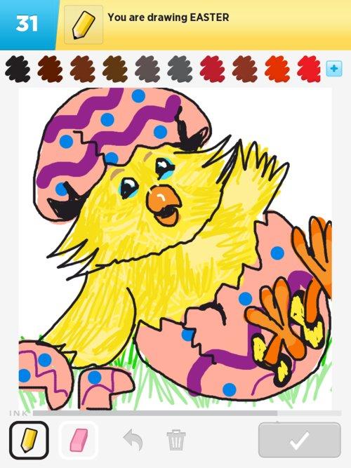 500x667 Easter Drawings