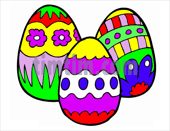 585x450 Easy Easter Bunny Drawing Fresh Easter Egg Design Coloring Pages