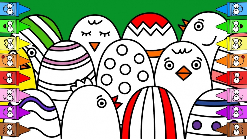 796x448 Easter Drawings Easter Drawing Ideas