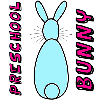 400x400 How To Draw An Easy Bunny For Young Kids, Toddlers,