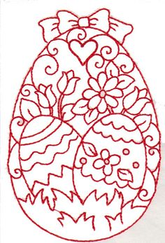 236x347 Easter Egg Coloring Page With Elegant Paterns Happy Easter