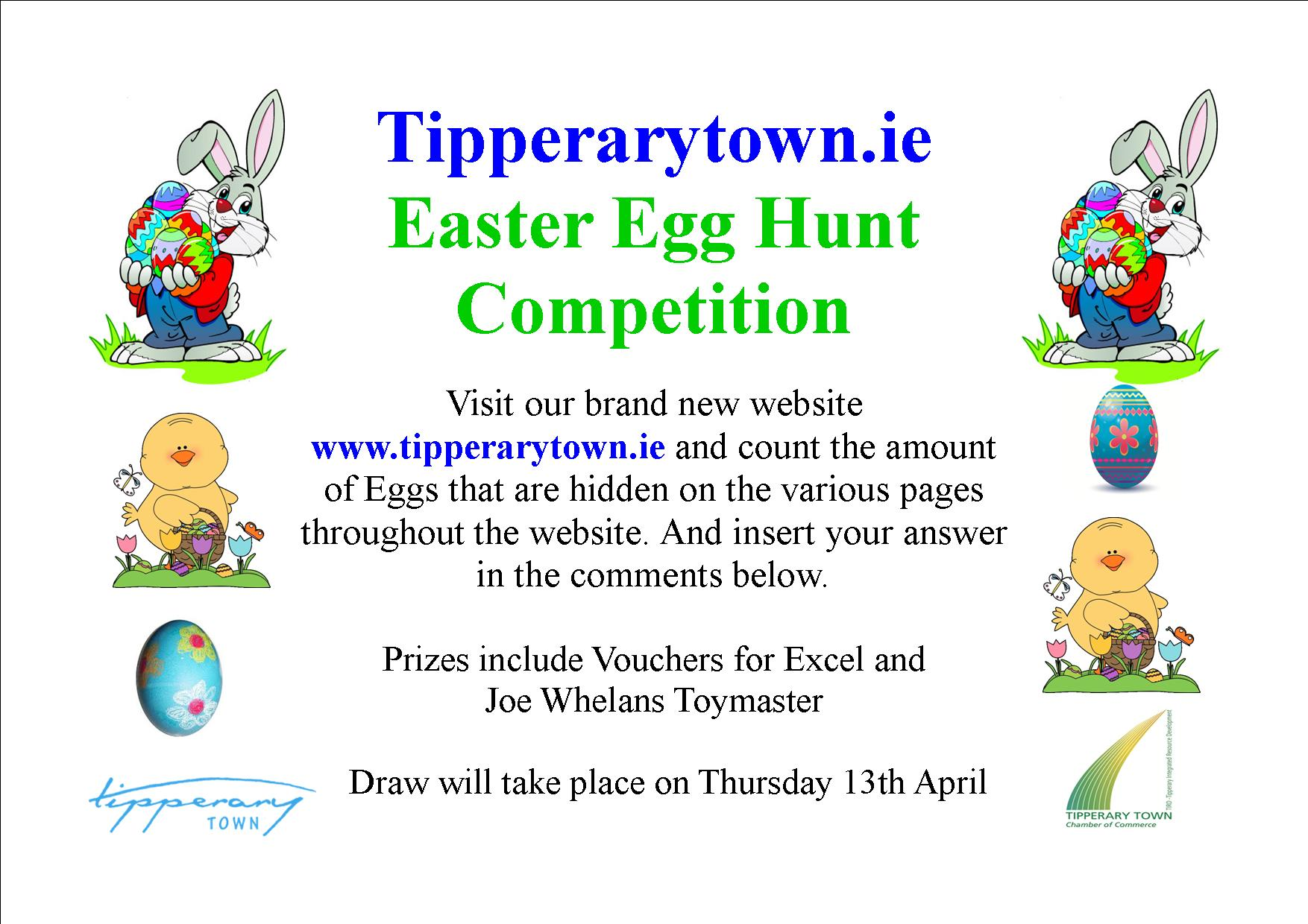 1754x1240 Tipperarytown.ie Easter Egg Hunt Competition