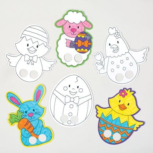 500x500 Easter Colour In Finger Puppets Puppet, Finger Puppets And Bunny