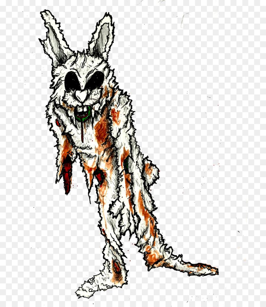 900x1040 Easter Bunny Rabbit Drawing Zombie