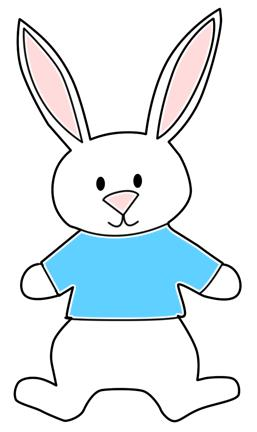 257x432 Easter Rabbit Drawing Hd Easter Images