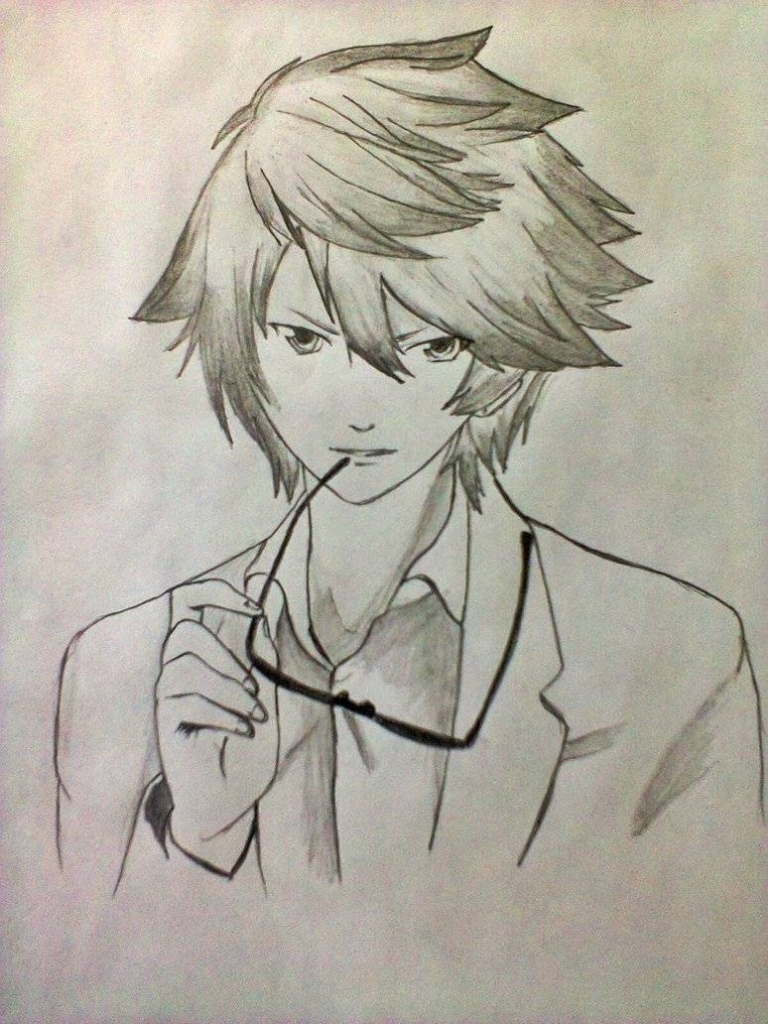 768x1024 Anime Boy Drawings In Pencil Easy Anime Drawings In Pencil Boy