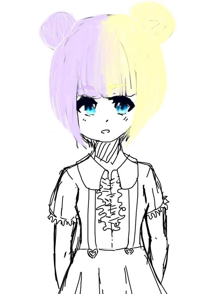 768x1024 Kawaii Anime Drawings Easy Anime Girls To Draw Anime Emo Girl