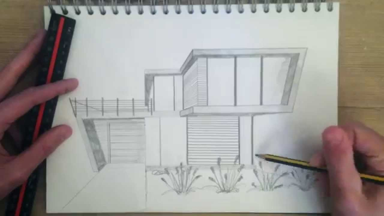1280x720 Architectural Drawing Practice Easy Architectural Drawing