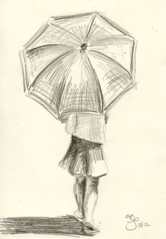 564x808 Unique And Utterly Captivating Umbrella Art To Drizzle You