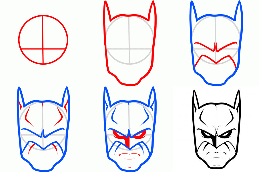 Easy Batman Drawing At Getdrawings Free For Personal Use Easy