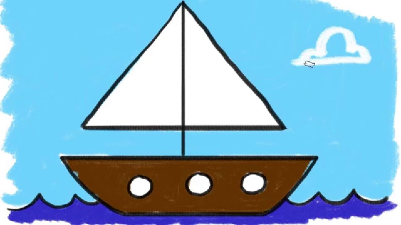 Easy Boat Drawing At Getdrawings Com Free For Personal Use Easy