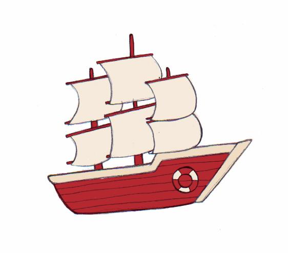 562x494 4 Ways To Draw A Boat