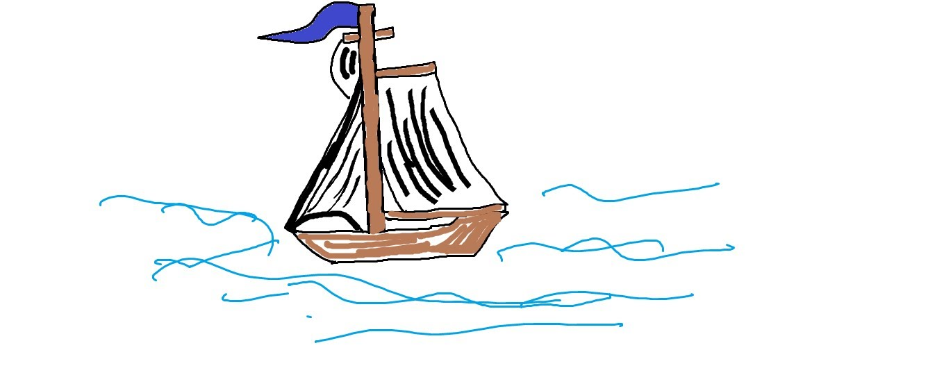 1359x540 Easy Kids Drawing Lessons How To Draw A Boat Step By Step