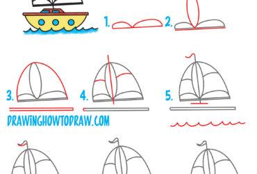 370x250 Fishing Boat Drawing Easy