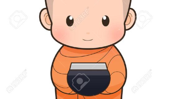570x320 Buddha Cartoon Drawing