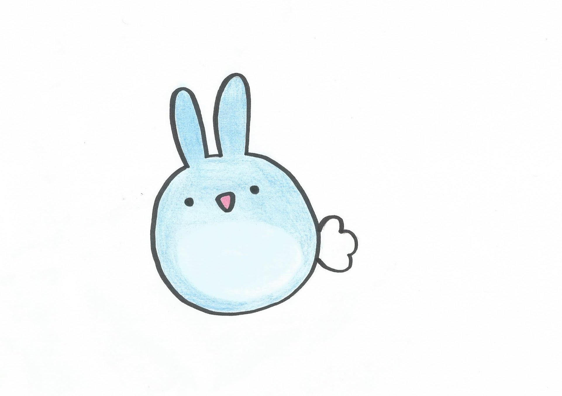 Sketch Easy Bunny Drawing At Getdrawings Com Free For Personal