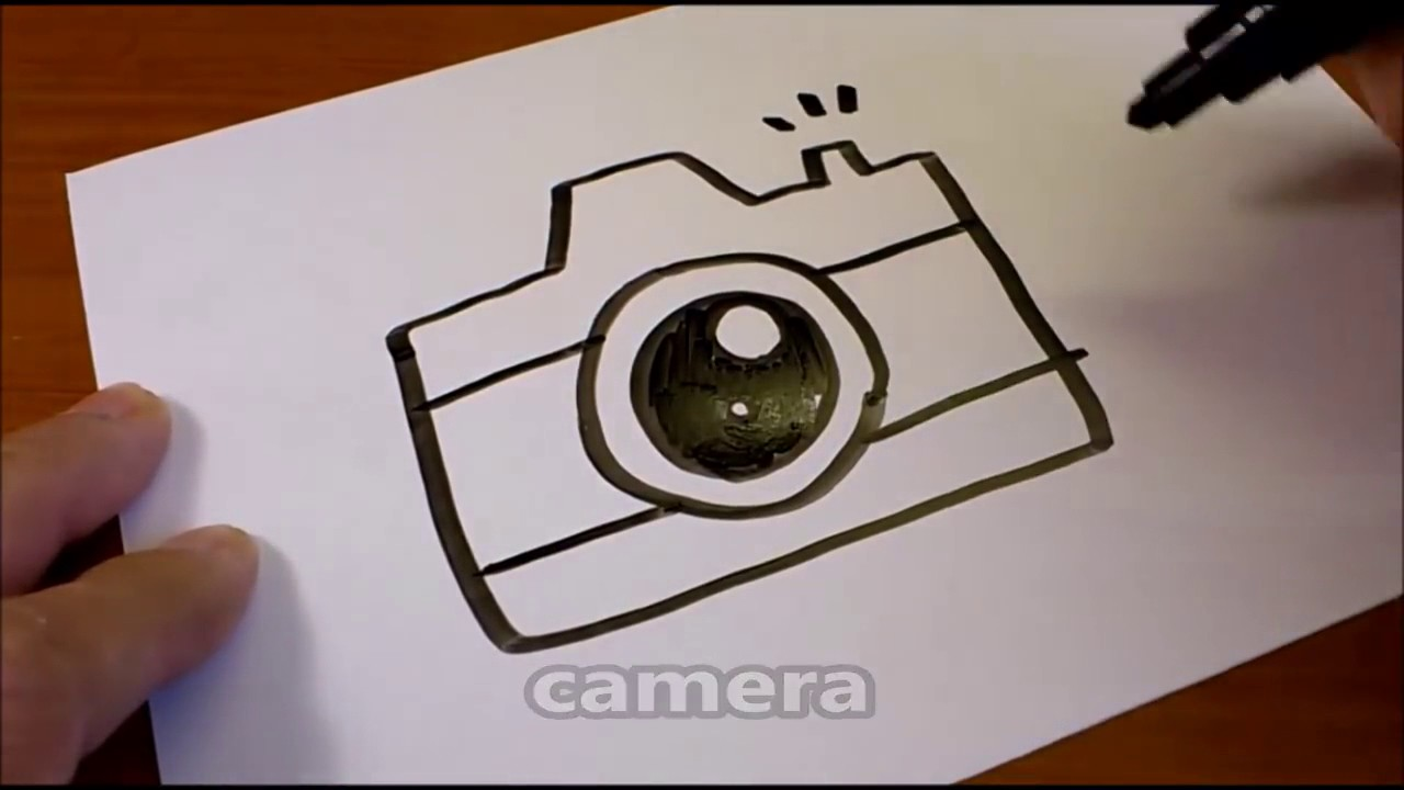 Easy Camera Drawing at GetDrawings.com   Free for personal ...