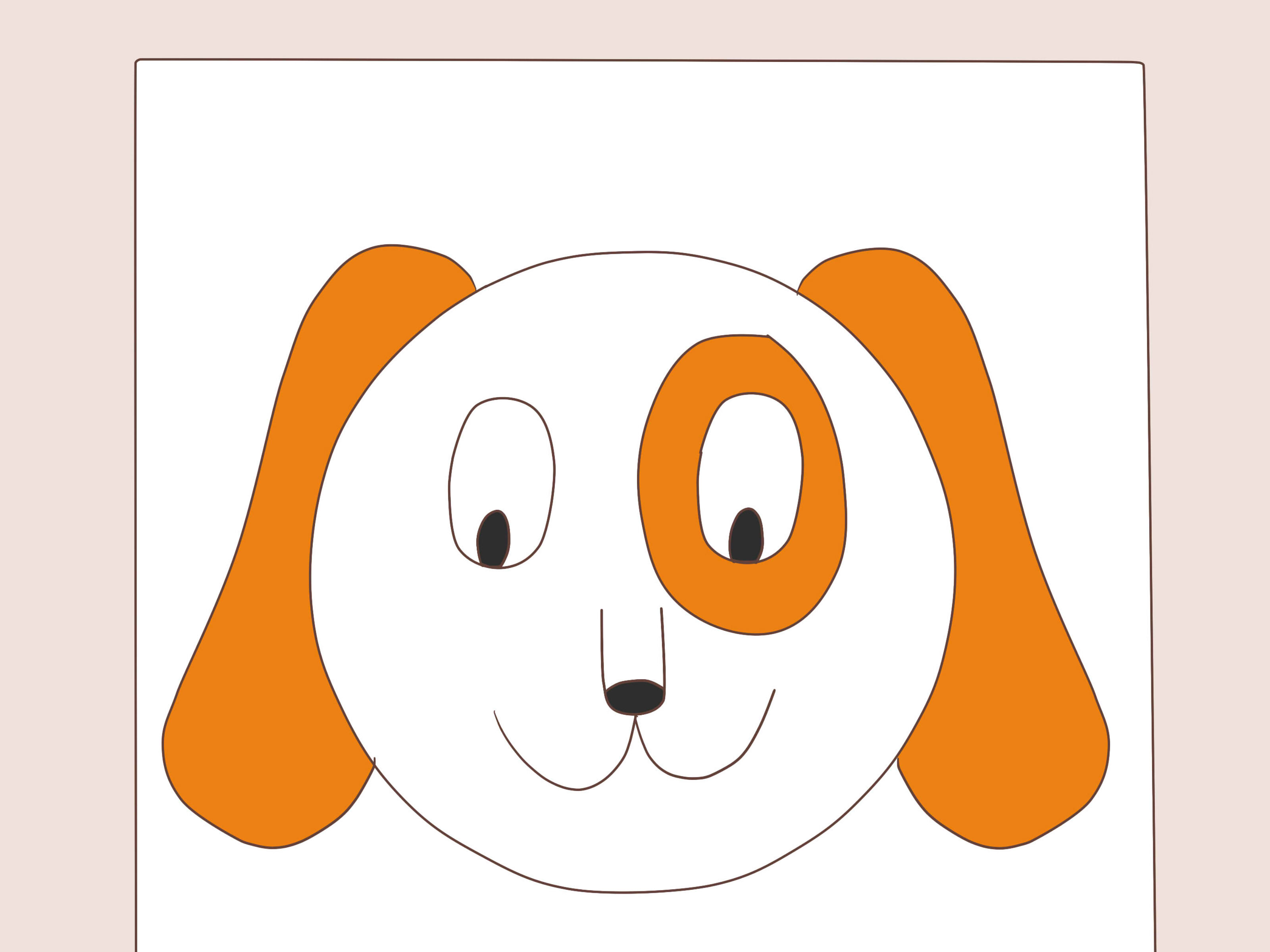Easy Cartoon Dog Drawing At Getdrawings Com Free For