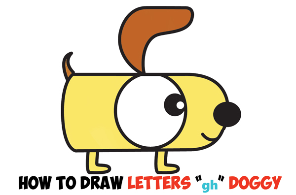 easy cartoon dog drawing at getdrawings com free for personal use