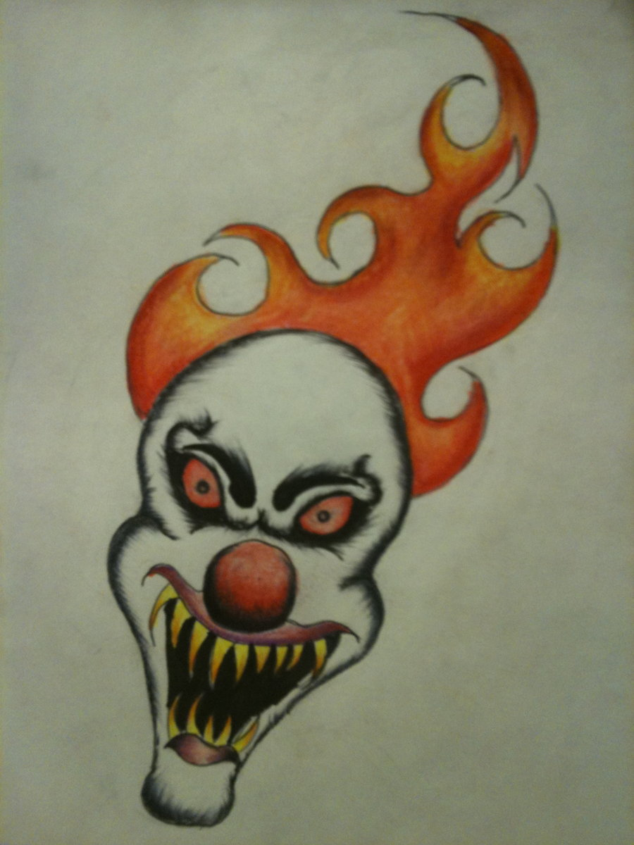 900x1200 Scary Clown Oh Scary Clown By Shawn6864