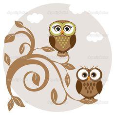 236x236 Cute Owl Drawings Cute Owl Cartoon Drawings Art