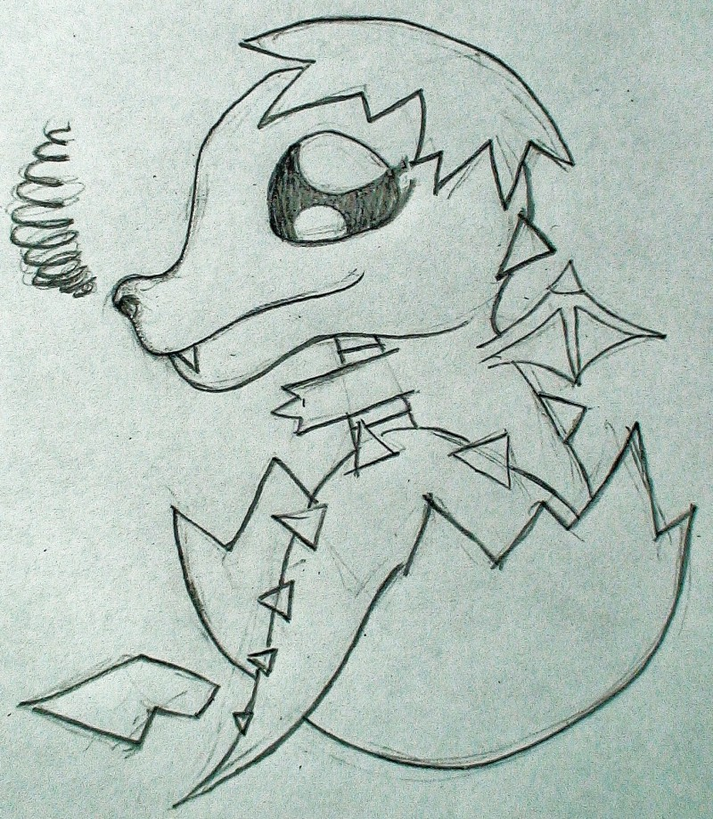 Easy Dragon Drawing At Getdrawings Com Free For Personal