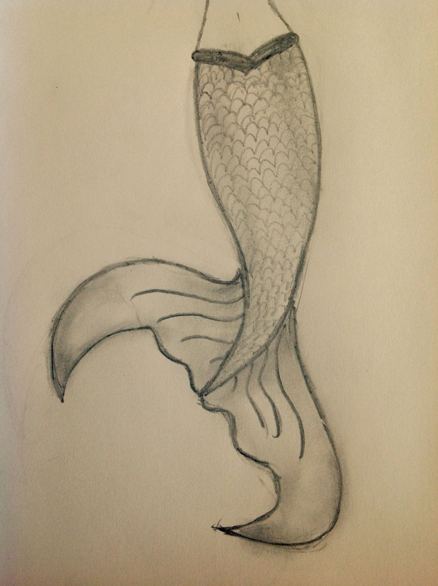 1530x2048 A Simple Easy Mermaid Tail Drawing That Looks 10 Times Better