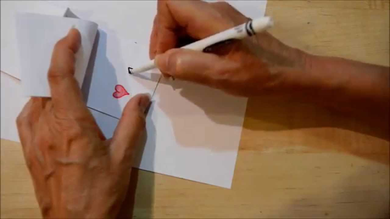 1280x720 How To Draw A Quick And Easy Flip Book