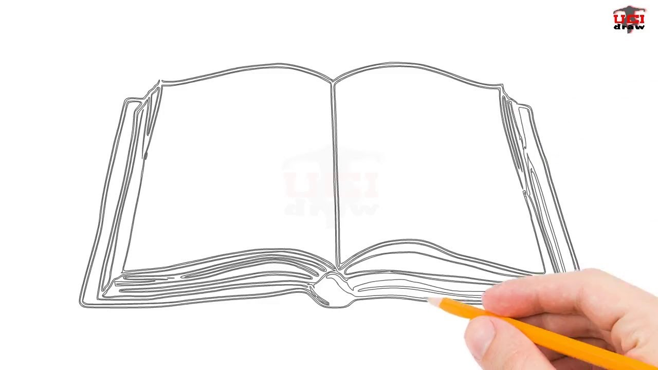 1280x720 How To Draw A Book Step By Step Easy For Beginnerskids Simple
