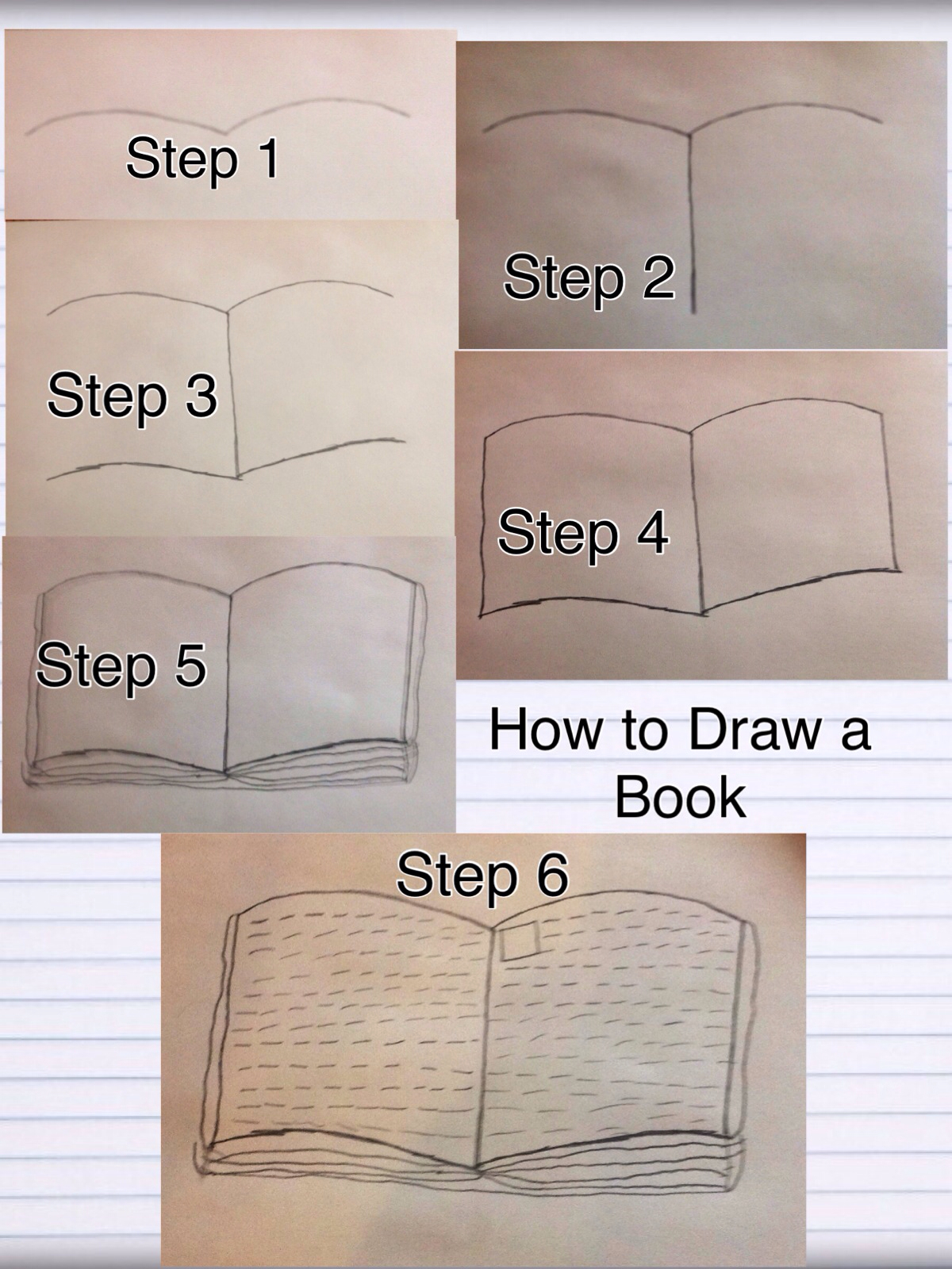 1200x1600 How To Draw An Open Book In 6 Easy Steps! Art Open