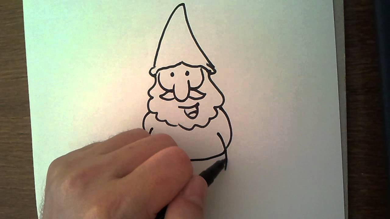 1280x720 Drawing Book How To Draw Gnomes And Dwarves