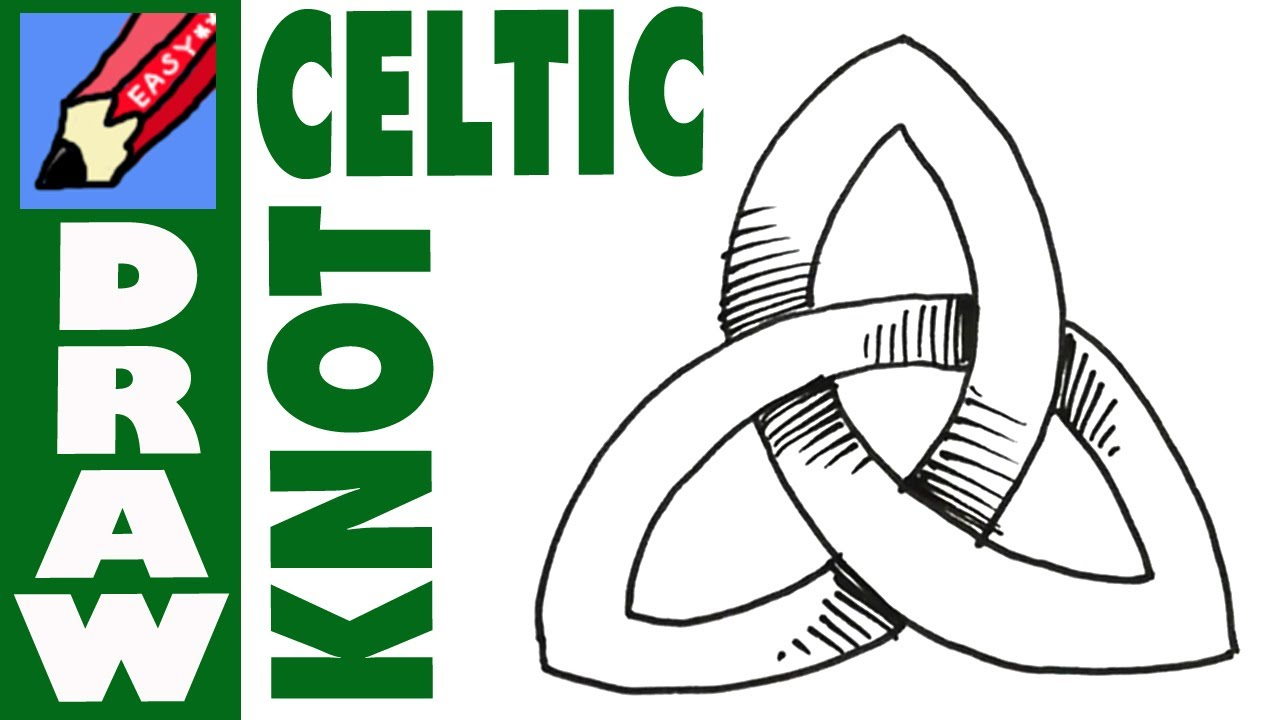 1280x720 How To Draw A Celtic Knot Real Easy
