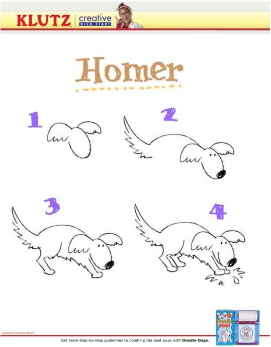 539x689 Draw A Dog In 4 Easy Steps Parents