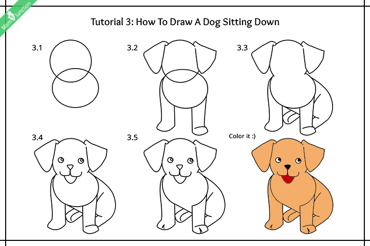 720x480 How To Draw Dogs