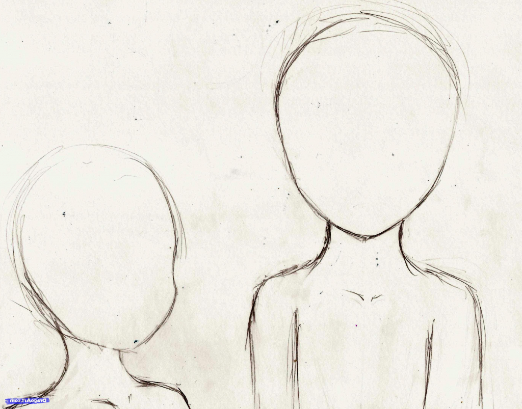 1024x803 Drawing Ideas For Girls Step By Step Easy Drawing Of A Girl How
