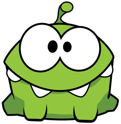 400x410 How To Draw Om Nom From Game Cut The Rope With Easy Step By Step