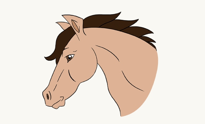 662x400 how to draw a mustang horse group 75